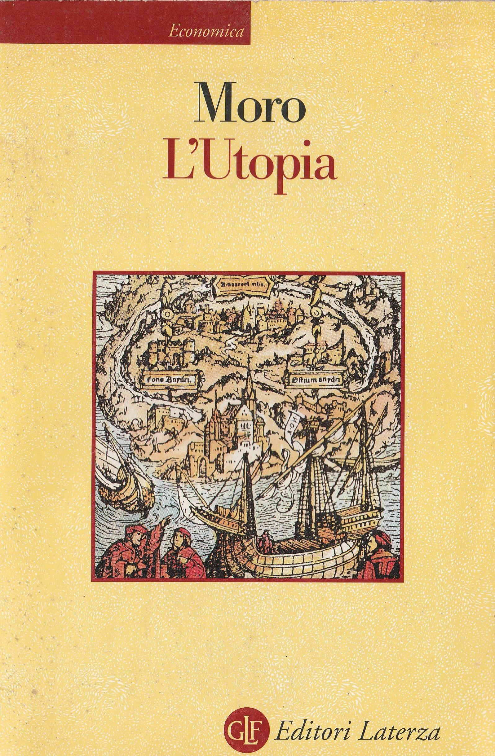 Tommaso Moro: L'UTOPIA o la miglior forma di repubblica. – Biblioteca Teresa Gullace